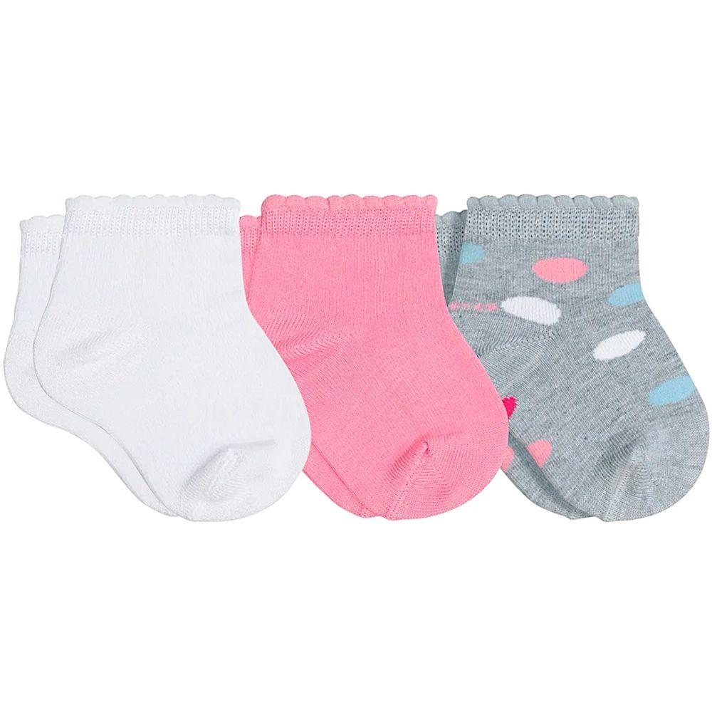 LU02000-989.0931-A-moda-bebe-menina-tripack-kit-3-meias-soquete-c-punho-soft-branco-rosa-cinza-lupo-no-bebefacil-loja-de-roupas-enxoval-e-acessorios-para-bebes