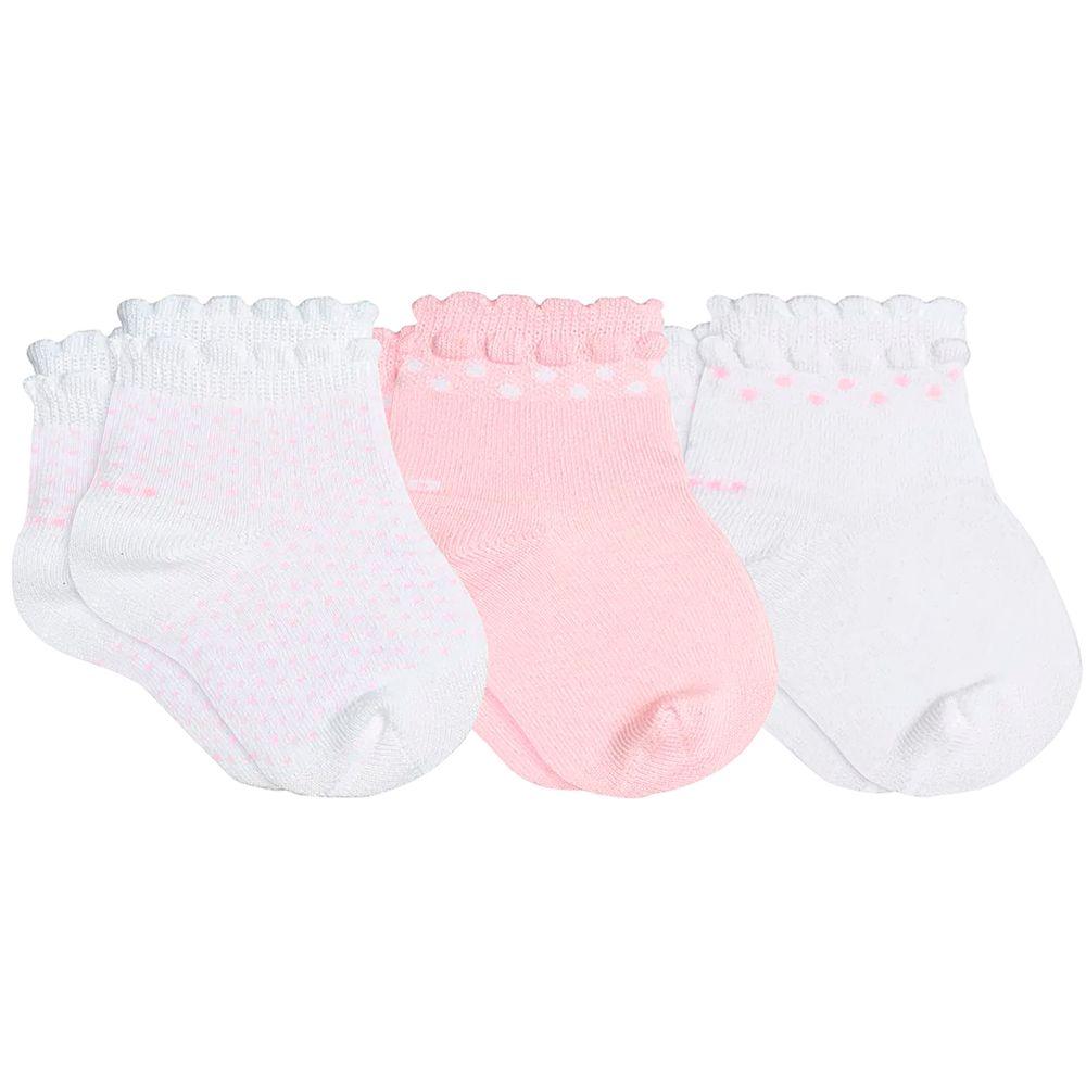 LU02000-989.0934-A-moda-bebe-menina-tripack-kit-3-meias-soquete-c-punho-soft-branco-rosa-branco-poa-lupo-no-bebefacil-loja-de-roupas-enxoval-e-acessorios-para-bebes