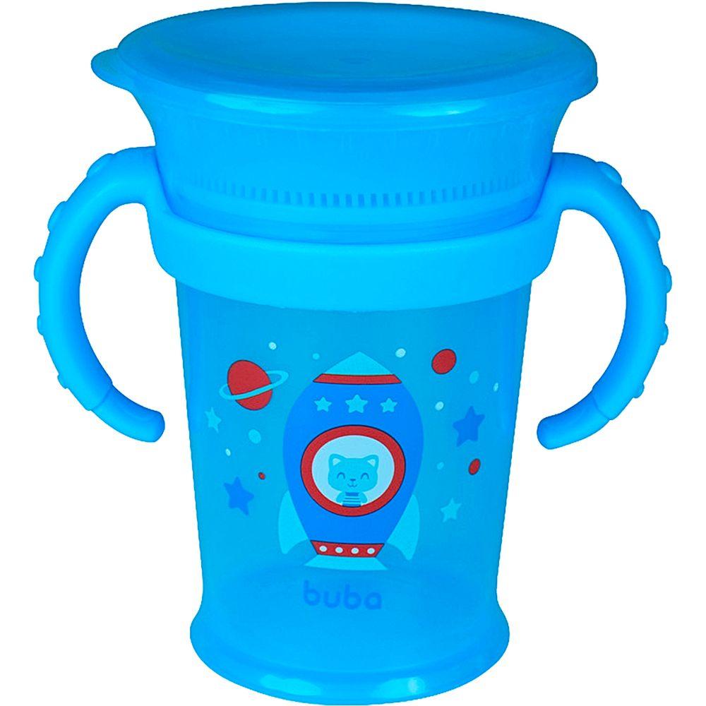 BUBA13215-A-Copo-de-Treinamento-com-Alca-360-Azul-210ml-18m---Buba