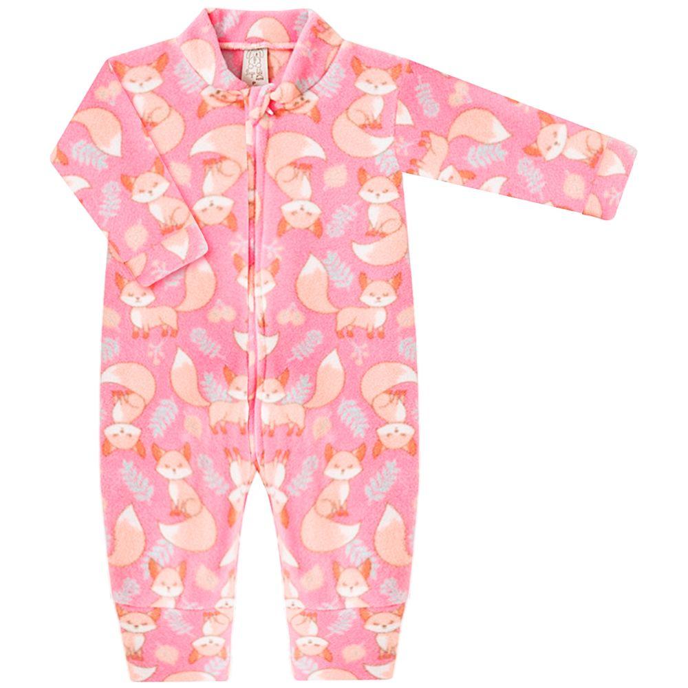 PL9054-1034-A-moda-bebe-menina-macacao-longo-com-ziper-em-soft-raposa-rosa-pingo-lele-no-bebefacil-loja-de-roupas-enxoval-e-acessorios-para-bebes