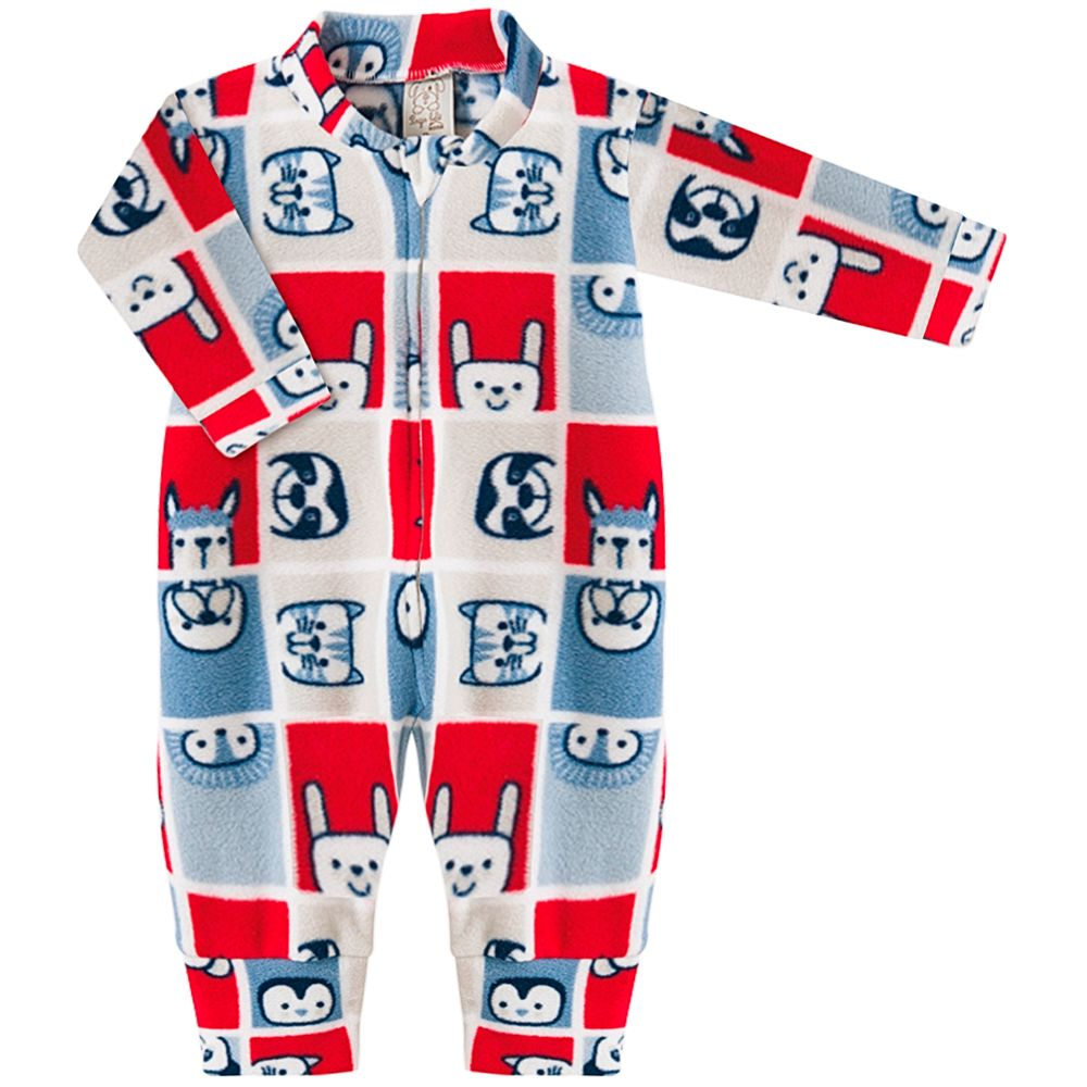 PL9054-1033-A-moda-bebe-menino-macacao-longo-com-ziper-em-soft-bichinhos-pingo-lele-no-bebefacil-loja-de-roupas-enxoval-e-acessorios-para-bebes