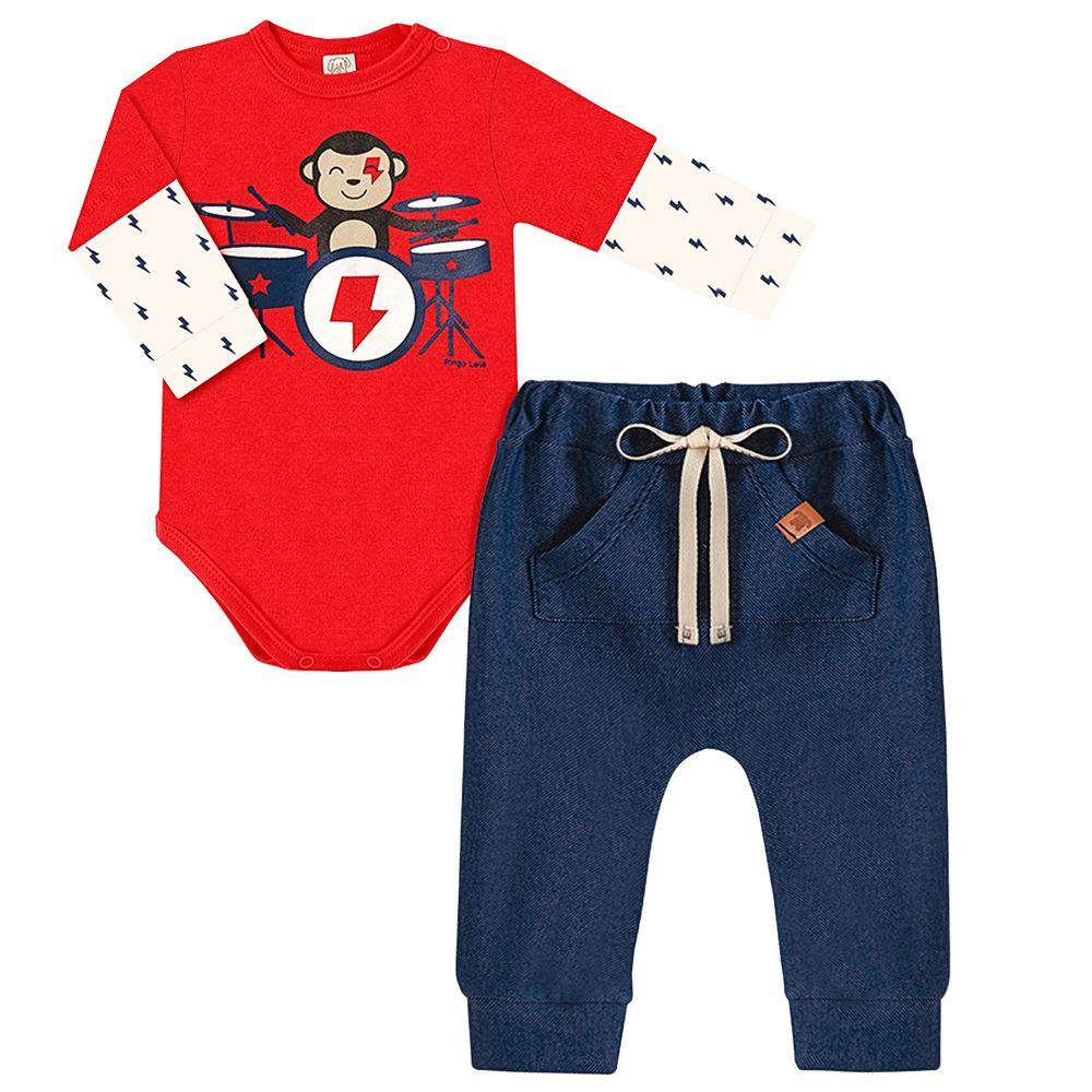 PL66699-A-moda-bebe-menino-body-longo-com-calca-em-suedine-monkeys-rock-pingo-lele-no-bebefacil-loja-de-roupas-enxoval-e-acessorios-para-bebes
