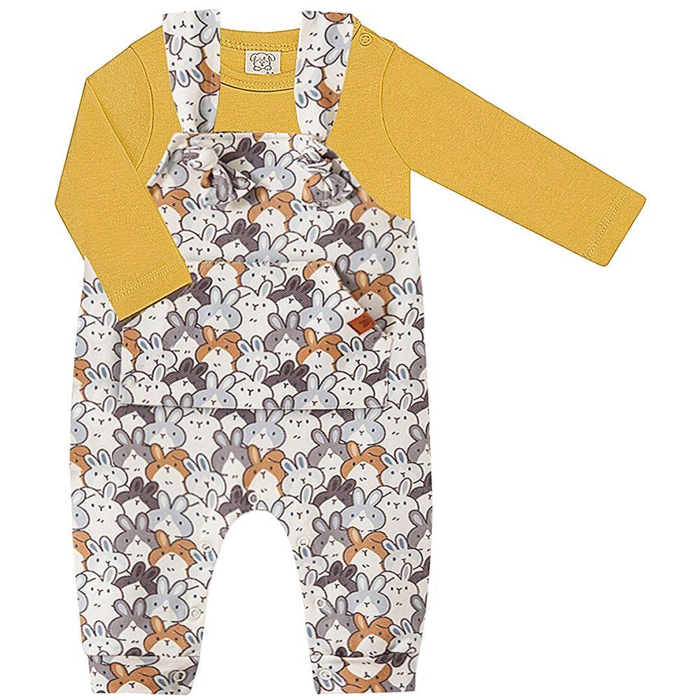 PL66693-A-moda-bebe-menino-jardineira-body-longo-suedine-coelho-pingo-lele-no-bebefacil-loja-de-roupas-enxoval-e-acessorios-para-bebes