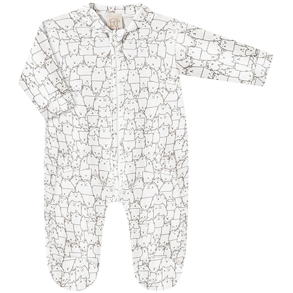 PL6672-A-moda-bebe-menina-menino-macacao-longo-em-suedine-gatinhos-pingo-lele-no-bebefacil-loja-de-roupas-enxoval-e-acessorios-para-bebes
