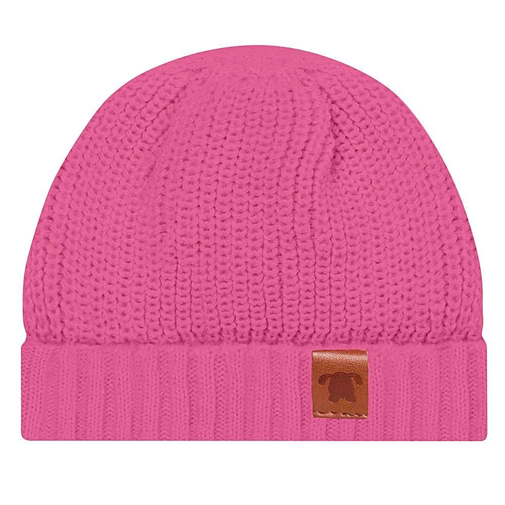 PL66261.239-A-moda-bebe-menina-acessorios-touca-em-tricot-pink-pingo-lele-no-bebefacil-loja-de-roupas-enxoval-e-acessorios-para-bebes