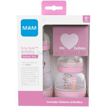 MAM4694-D-Kit-2-Mamadeiras-Anticolica-Easy-Start-130ml-e-260ml-Rosa-0m---MAM