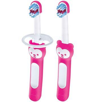 MAM8116-A-Escova-de-Dentes-Babys-Brush-2-Unidades-Rosa-6m---MAM