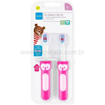 MAM8116-C-Escova-de-Dentes-Babys-Brush-2-Unidades-Rosa-6m---MAM