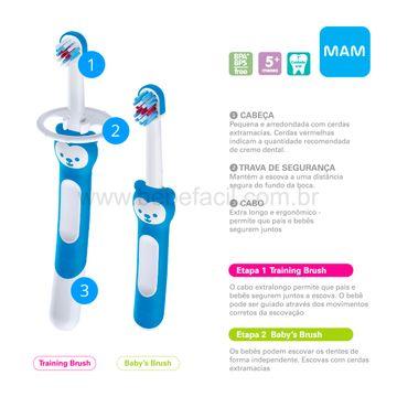 MAM8307-C-Escova-de-Dentes-Learn-to-Brush-2-Unidades-Azul-5m---MAM