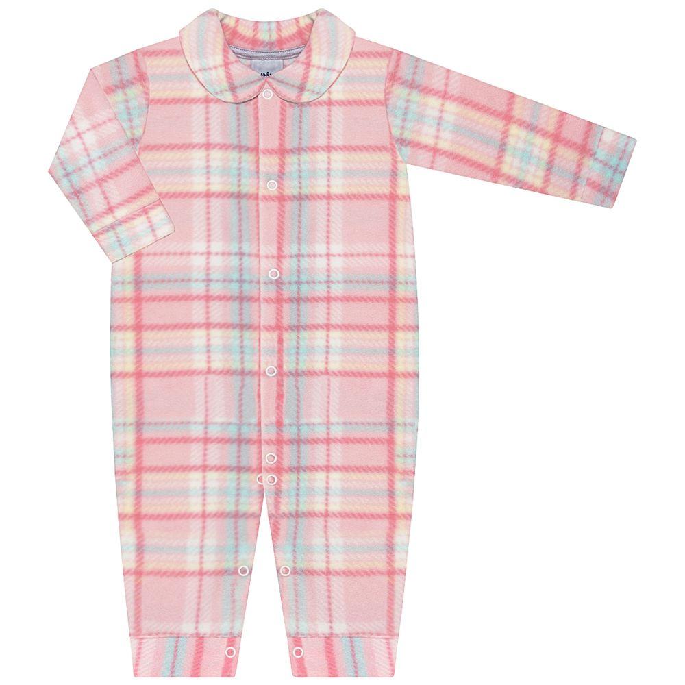 JUN50101-X1-moda-bebe-menina-macacao-longo-soft-xadrez-rosa-junkes-baby-no-bebefacil