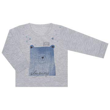 JUN61102-M-B-moda-menino-pijama-calca-blusa-em-malha-bear--sleeping-mescla-junkes-baby-no-bebefacil-loja-de-roupas-para-bebes