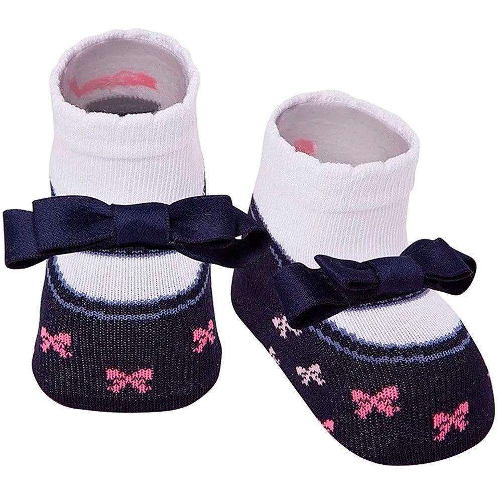PK6935-LM-A-moda-bebe-menina-meia-laco-marinho-puket-no-bebefacil-loja-de-roupas-enxoval-e-acessorios-para-bebes