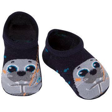 PK6908-LM-A-moda-bebe-menino-acessorios-meia-sapatinho-leao-marinho-preto-puket-no-bebefacil-loja-de-roupas-enxoval-e-acessorios-para-bebes