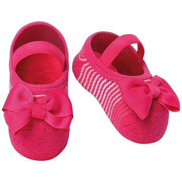 PK7033-LLP-A-moda-bebe-menina-meia-sapatilha-laco-pink-puket-no-bebefacil-loja-de-roupas-enxoval-e-acessorios-para-bebes