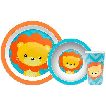 BUBA10734-A-Kit-Refeicao-para-bebe-Animal-Fun-Leaozinho-6m---Buba