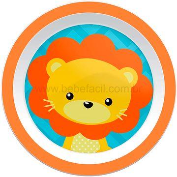 BUBA10734-B-Kit-Refeicao-para-bebe-Animal-Fun-Leaozinho-6m---Buba