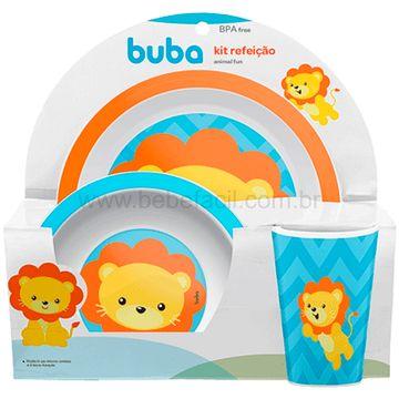 BUBA10734-G-Kit-Refeicao-para-bebe-Animal-Fun-Leaozinho-6m---Buba