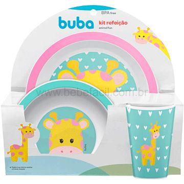 BUBA10735-G-Kit-Refeicao-para-bebe-Animal-Fun-Girafinha-6m---Buba