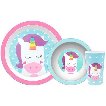 BUBA10737-A-Kit-Refeicao-para-bebe-Animal-Fun-Unicornio-6m---Buba