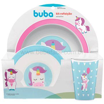BUBA10737-G-Kit-Refeicao-para-bebe-Animal-Fun-Unicornio-6m---Buba