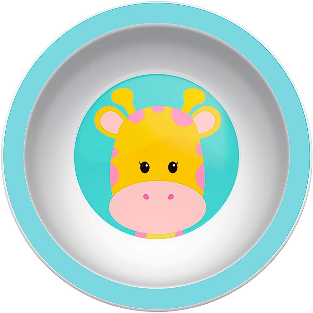 BUBA08978-A-Pratinho-Bowl-para-bebe-Animal-Fun-Girafinha-6m---Buba
