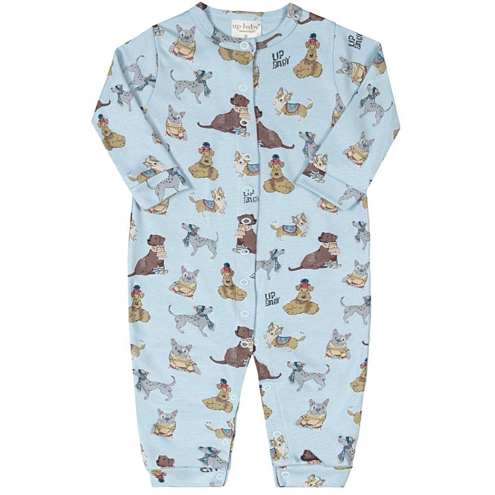 43143-AB1225-A-macacao-longo-para-bebe-em-suedine-dogs-up-baby-no-bebefacil-loja-de-roupas-enxoval-e-acessorios-para-bebes