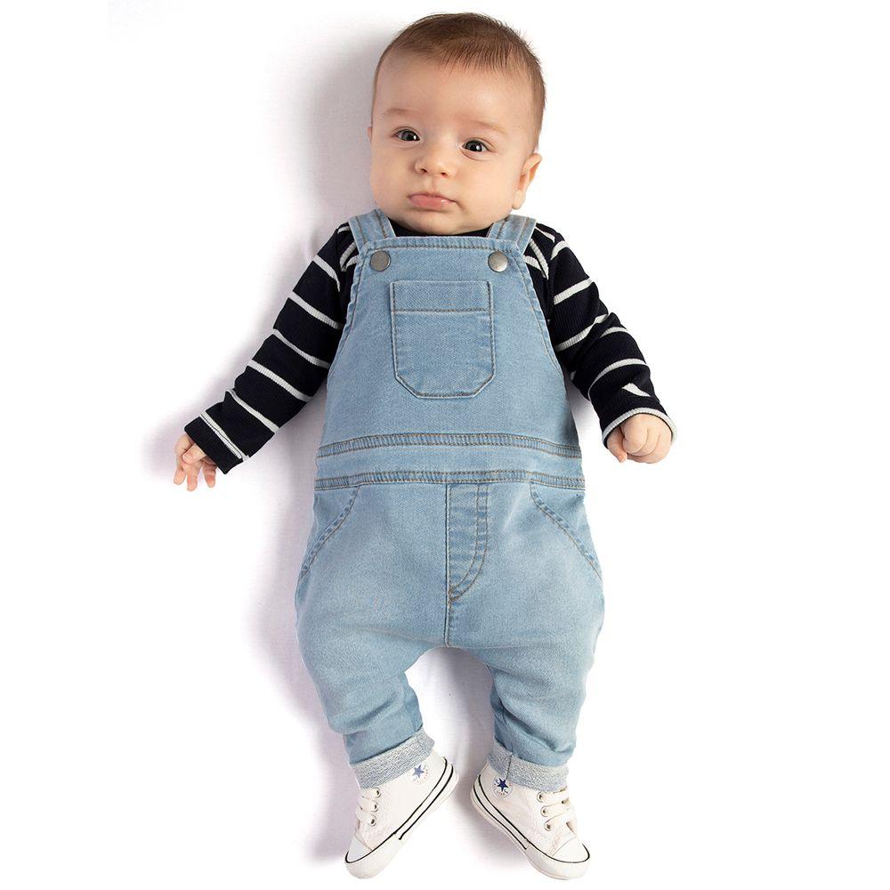 TMX4113-moda-bebe-menino-conjunto-jardineira-com-body-listras-blue-denim-TMX-no-bebefacil