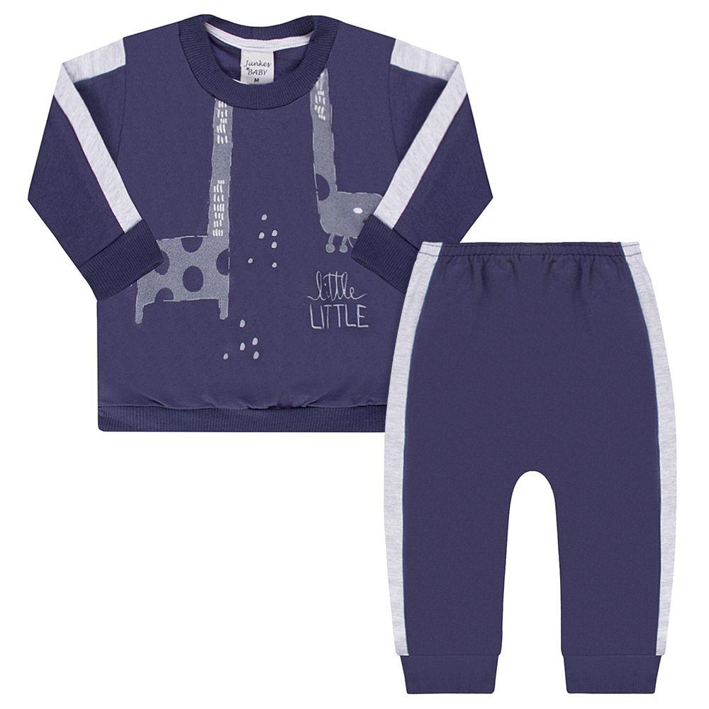 JUN51059-A-moda-bebe-menino-conjunto-blusao-com-calca-em-moletinho-peluciado-girafinha-junkes-baby-no-bebefacil-loja-de-roupas-enxoval-e-acessorios-para-bebes