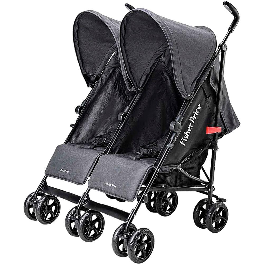 BB601-A-Carrinho-de-bebe-para-Gemeos-City-Twins-Preto-0-15Kg---Fisher-Price