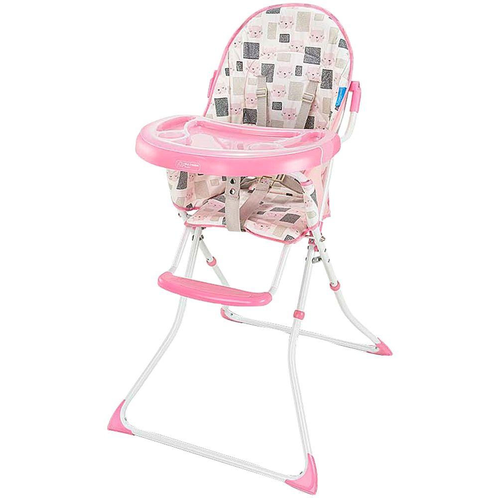 BB610-A-Cadeira-Alta-de-Alimentacao-Slim-gatinho-Rosa-6m---Multikids-Baby