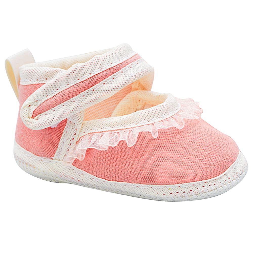 BBG-1231001LE-A-Sandalia-para-bebe-Babado-Rosa---Baby-Gut