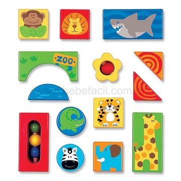 2525-B-Blocos-de-Madeira-Zoo-14-Pecas-18m---Stephen-Joseph