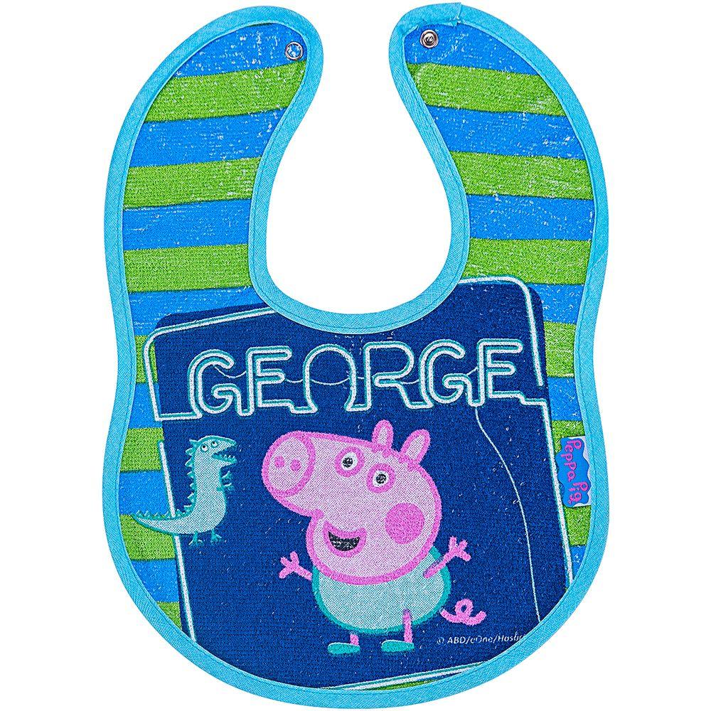 32000309010002-A-Babador-Anatomico-Impermeavel-para-bebe-em-atoalhado-George-Peppa-Pig---Incomfral