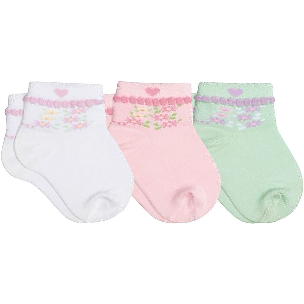 LU02000-989.0930-A-moda-bebe-menina-tripack-kit-3-meias-soquete-branco-rosa-verde-candy-lupo-no-bebefacil