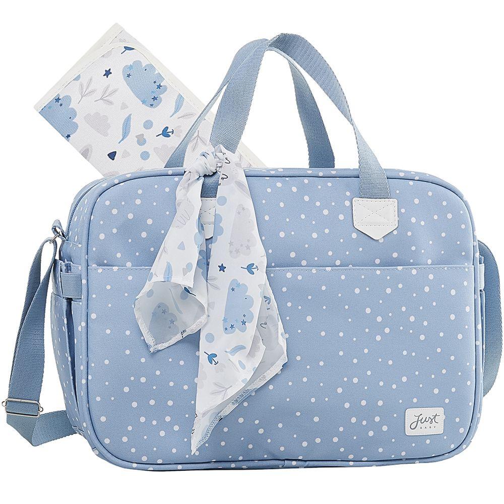 JBBNY322U1-A-Bolsa-Maternidade-para-bebe-Bunny-Azul---Just-Baby