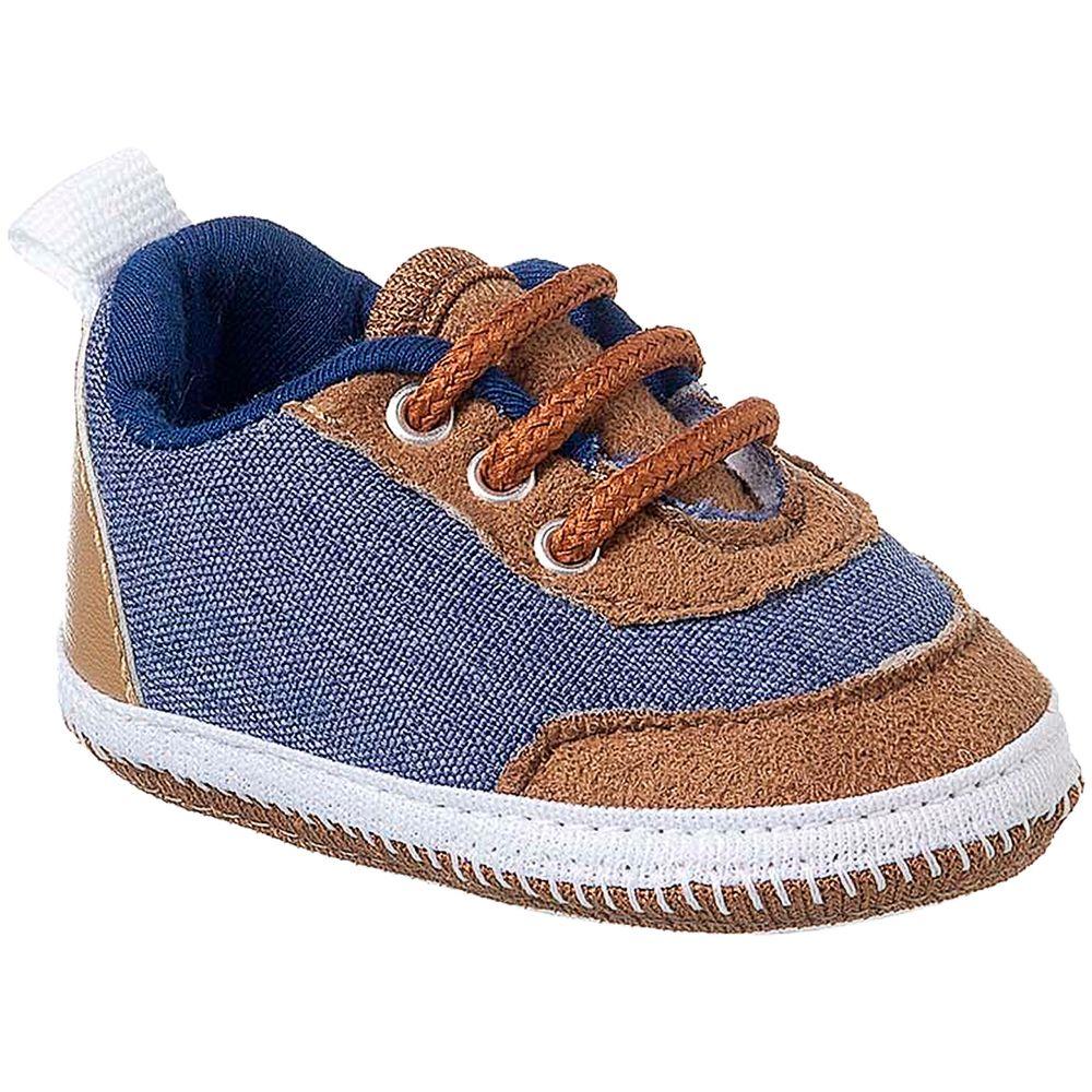 KB3297-258-A-Tenis-para-bebe-em-sarja-Azul-Caramelo---Keto-Baby