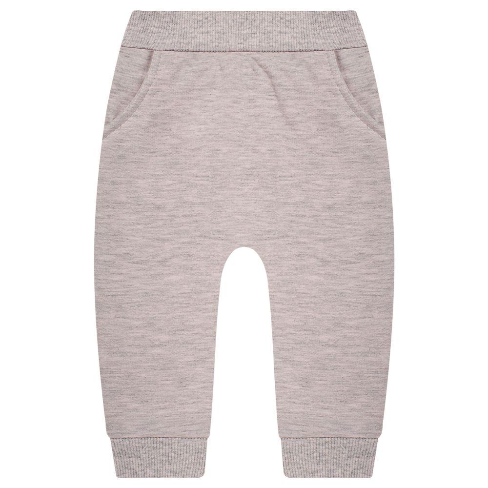 JUN50116-R-moda-bebe-menina-calca-em-moletinho-peluciado-mescla-rosa-junkes-baby-no-bebefacil-loja-de-roupas-enxoval-e-acessorios-para-bebes