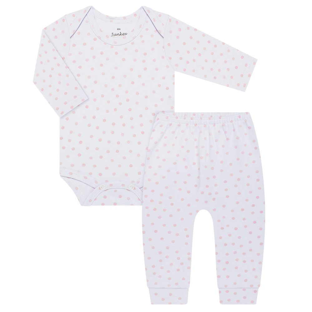 JUN30106-PO-A2-moda-bebe-menina-body-longo-calca-suedine-poa-rosa-junkes-baby-no-bebefacil