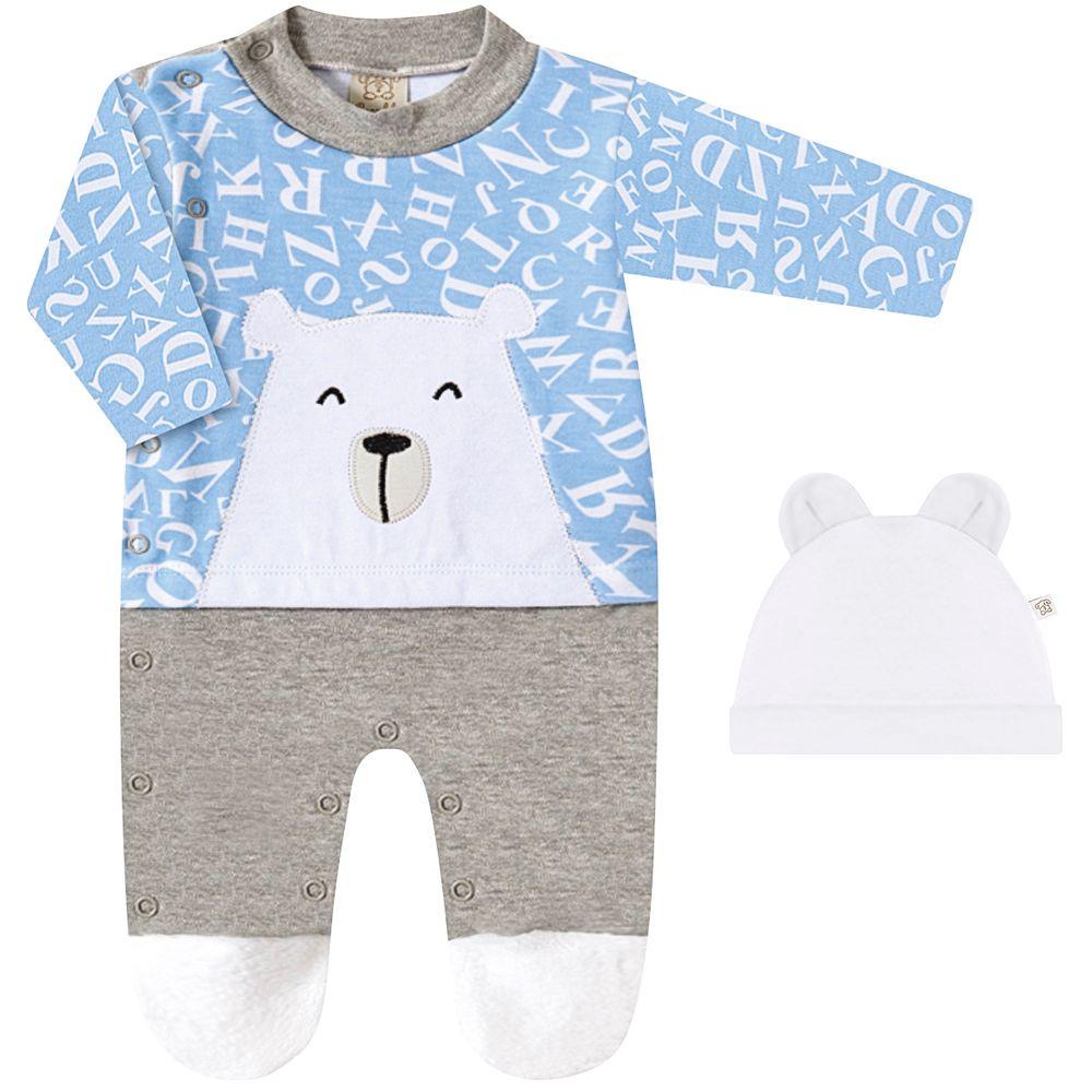 PL66720.1077-A-moda-menino-macacao-longo-touquinha-suedine-urso-letras-azul-para-bebe-Pingo-Lele