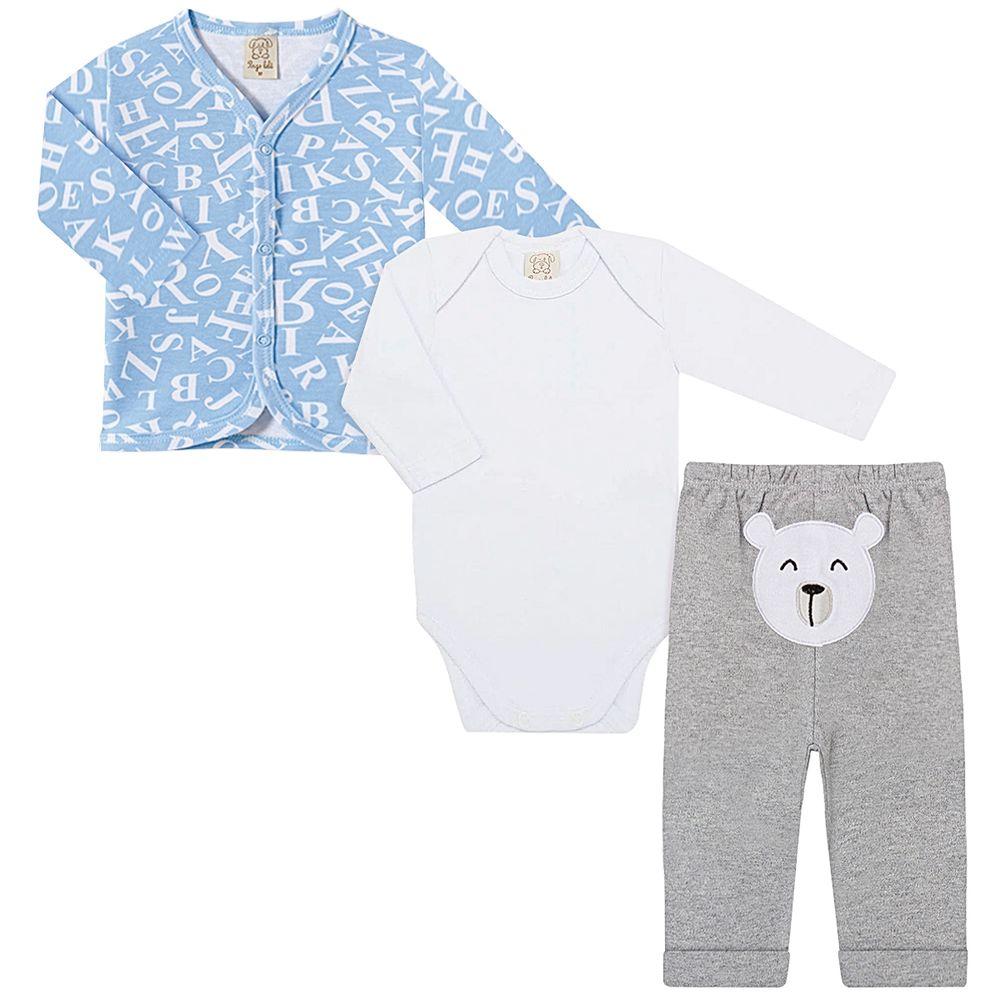 PL66717-A1-moda-bebe-menino-conjunto-pagao-casaquinho-body-longo-calca-mijao-urso-letras-Lele-no-bebefacil