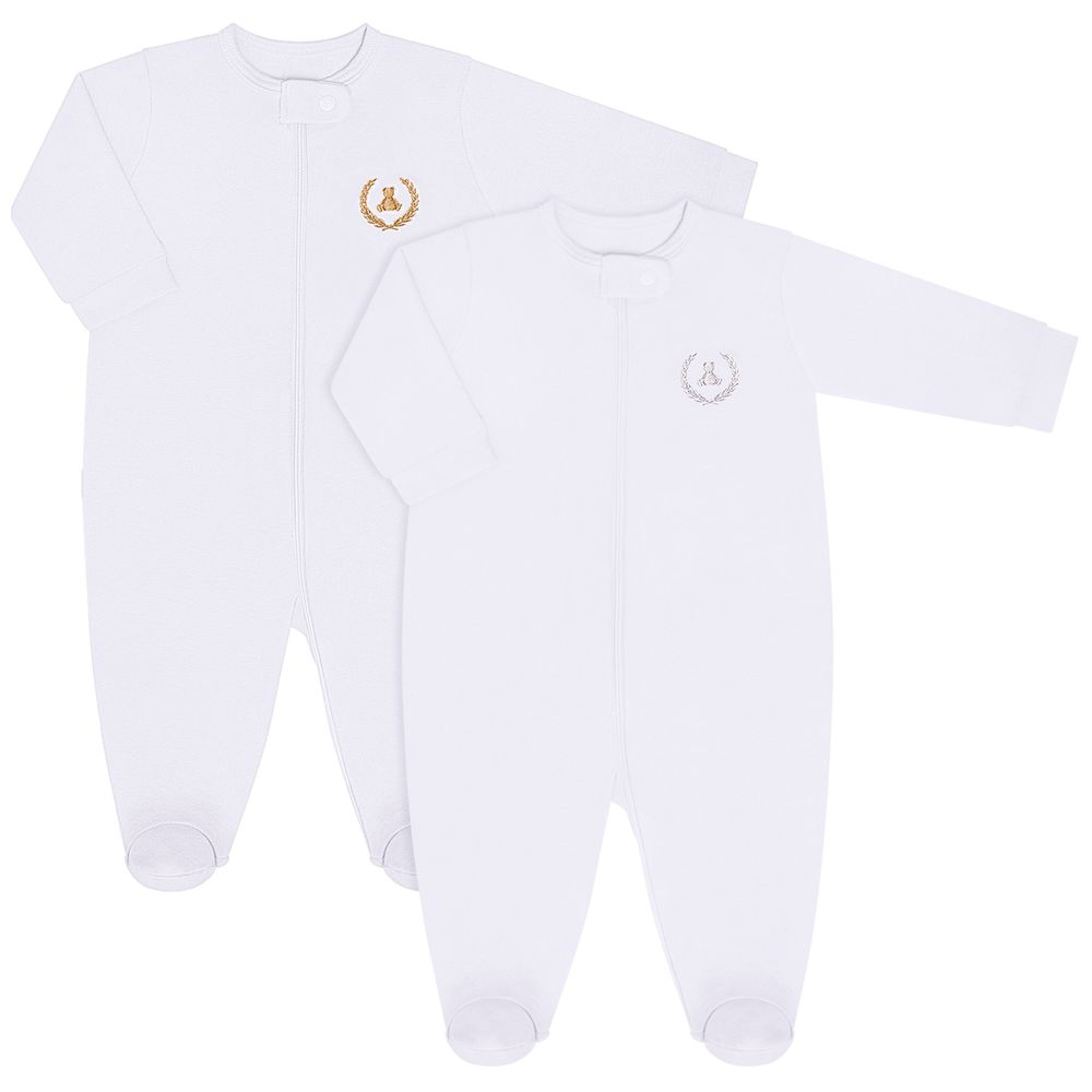 CQ21.088-01-A-moda-bebe-menina-menino-pack-2-macacao-manga-longa-ziper-suedine-malha-branco-coquelicot-no-bebefacil