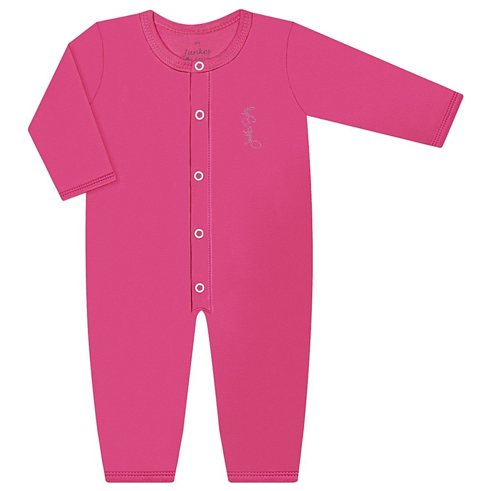 JUN20115-PK-moda-bebe-menina-macacao-longo-em-suedine-pink-junkes-baby-no-bebefacil