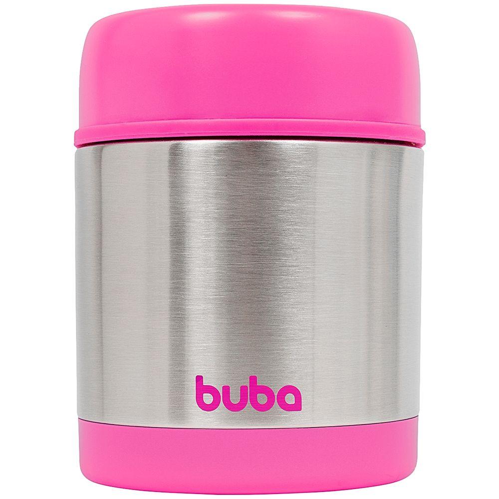 BUBA10740-A-Pote-Termico-Inox-Parede-Dupla-350ml-Rosa-6m---Buba