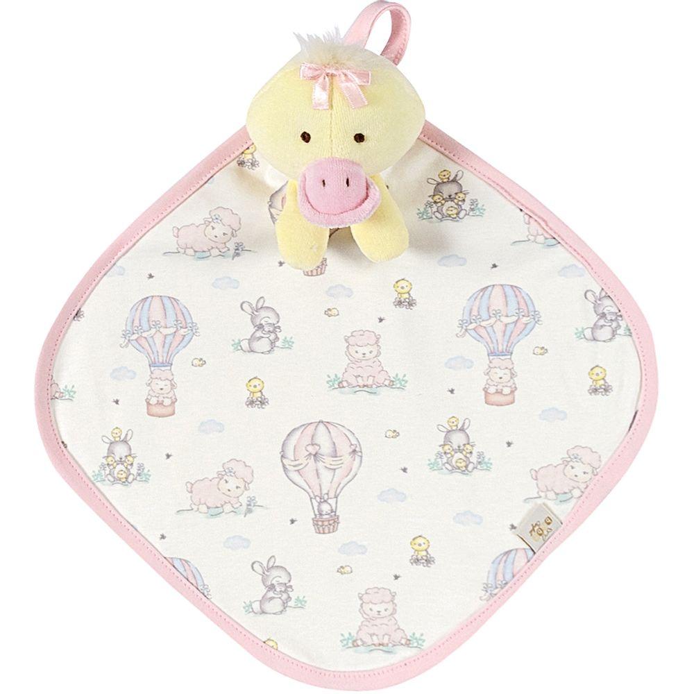 AB21591-T260-A-enxoval-e-maternidade-bebe-menina-naninha-em-plush-patinho-jardim-encantado-anjos-baby-no-bebefacil