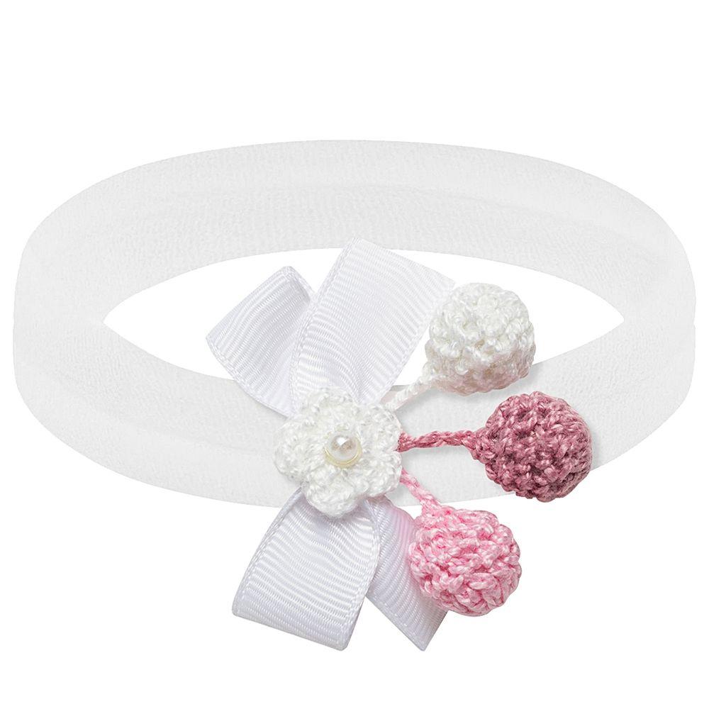 00521111001-A-acessorios-bebe-menina-faixa-recem-nascido-meia-laco-flor-croche-branca-roana-no-bebefacil