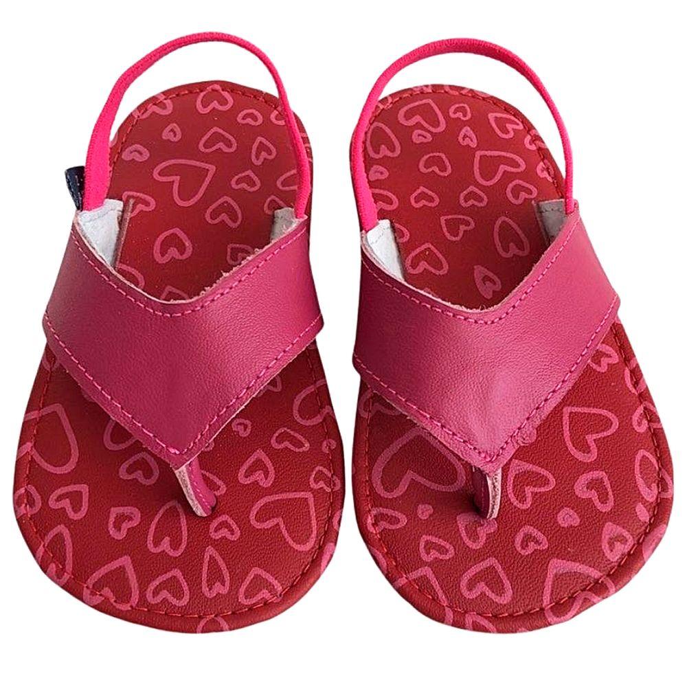 BABO01-A-Chinelo-Flip-Flop-com-elastico-para-bebe-Coracoes-Rosa---Babo-Uabu