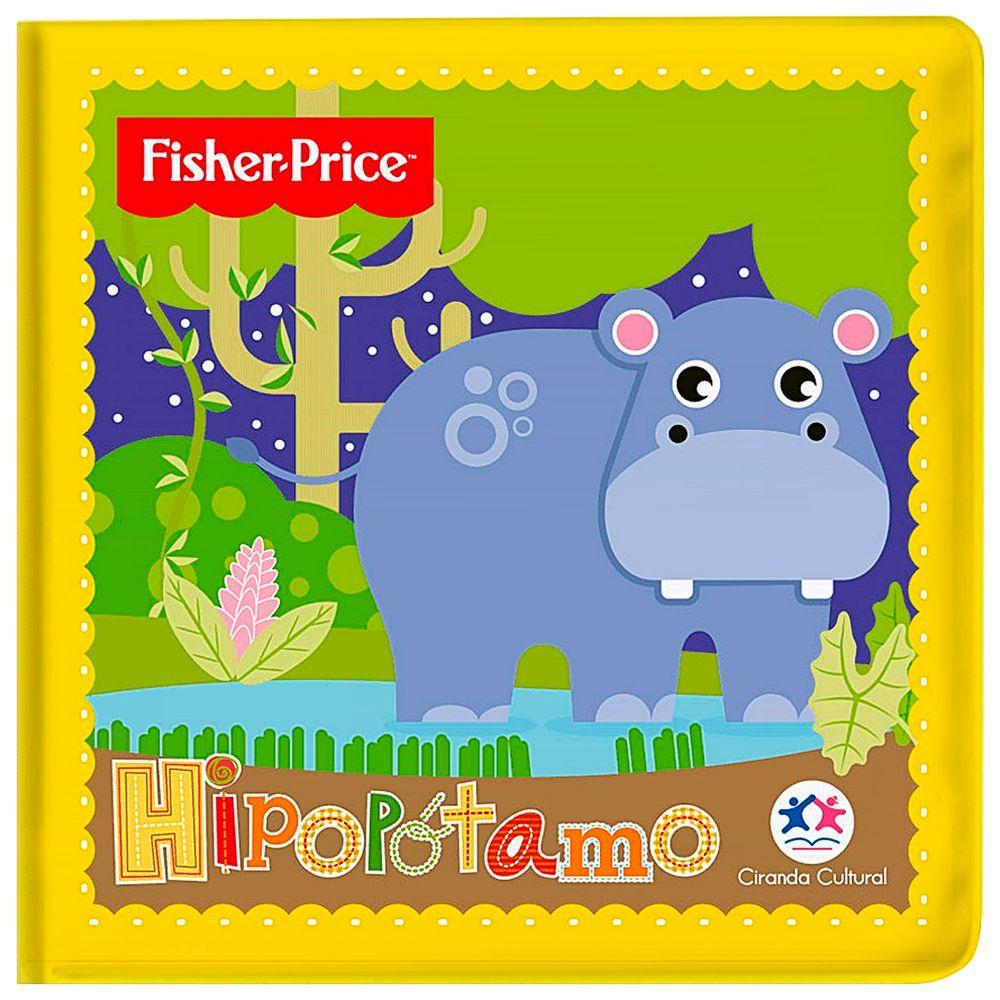 25179-A-Livro-Educativo-para-Banho-Hipopotamo-4m---Fisher-Price