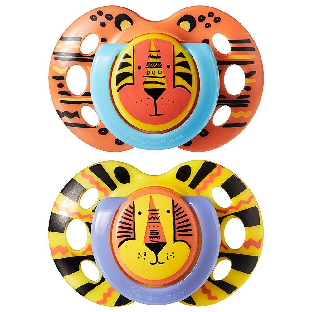 533362-A-Chupeta-Fun-Style-Leao-e-Leopardo-2pcs-18-36m---Tommee-Tippee
