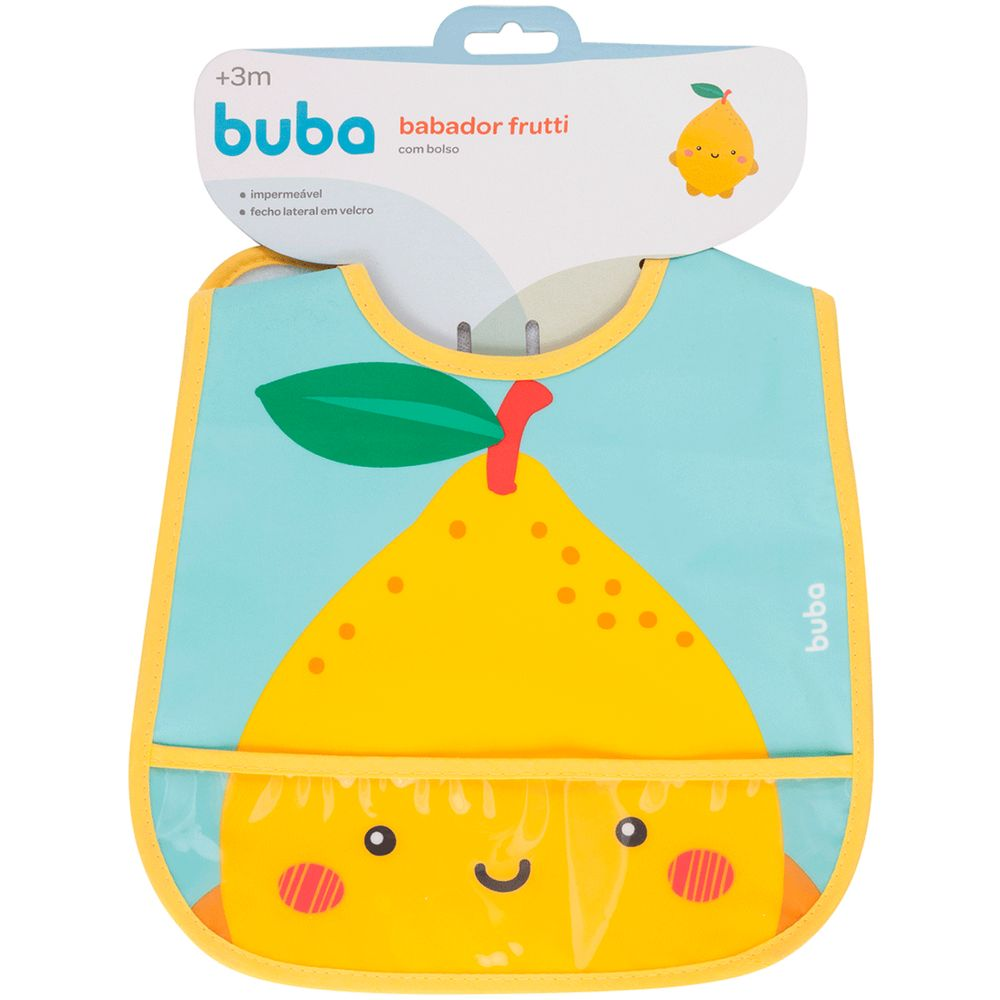 BUBA12089-A-Babador-com-Cata-migalhas-Frutti-Limao-3m---Buba
