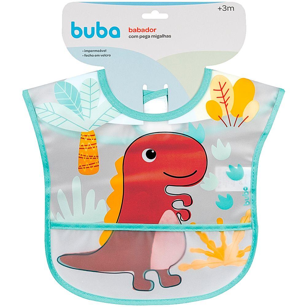 BUBA13239-A-Babador-com-Cata-migalhas-Dino-3m---Buba